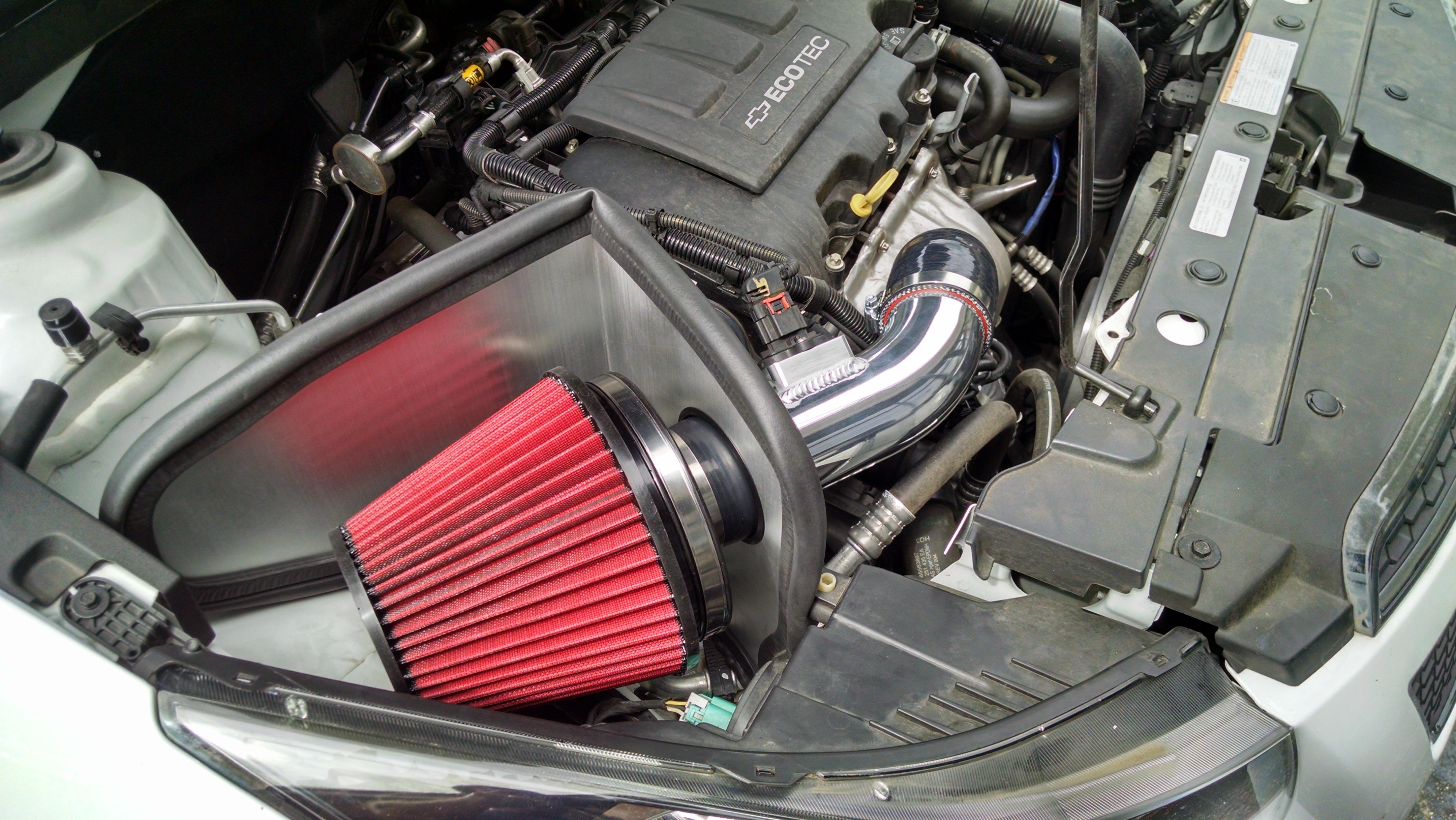 Mpfab Intake System For 2011 2016 Limited Chevy Cruze 1 4l