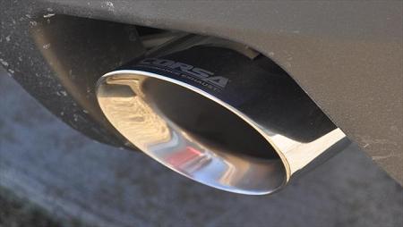 Corsa 10-15 Chevrolet Camaro Convertible RS 3 6L V6 Polished Sport Cat-Back  + XO Exhaust