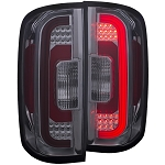 ANZO USA LED TAIL LIGHTS SMOKE 2015-2017 Chevrolet Colorado