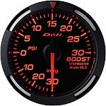 DEFI Red Racer 52mm Boost Gauge