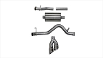 Corsa 15-16 Chevy Colorado 3.6L V6 Polished Sport Cat-Back Single Side Exit Exhaust