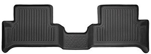 Husky Liners 15 Chevrolet Colorado/GMC Canyon Extended Cab WeatherBeater Black 2nd Seat Floor Liners