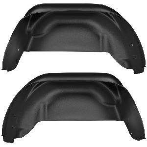 Husky Liners 2015-2016 Chevy Colorado Black Rear Wheel Well Guards