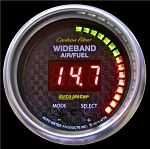 Autometer Carbon Fiber 52mm AFR or LAMBDA Digital Wideband Air/Fuel Ratio PRO Wideband A/F Kit