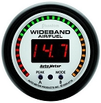 Autometer Phantom 52mm Wideband Air/Fuel Gauge