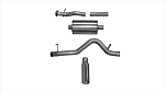 Corsa 15-16 Chevy Colorado 3.6L V6 Cat-Back Exhaust 4in SS Db Tip Single Side Exit