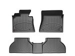WeatherTech 2015+ Chevy Colorado Crew Cab Front and Rear Floorliners - Black