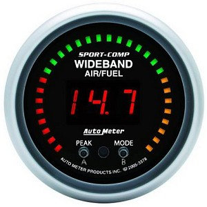 Autometer Sport-Comp 52mm Wideband Air/Fuel Gauge