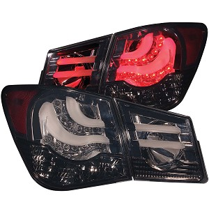 ANZO USA LED TAIL LIGHTS -SMOKE- 2011-2016 Chevrolet Cruze