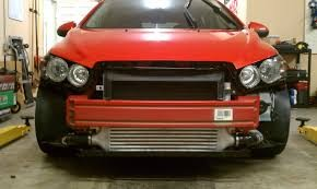 MPFab Intercooler Upgrade for Chevy Sonic 1.4L