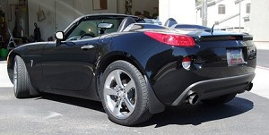Solo Performance Mach Shorty Exhaust 2007-2009 Pontiac Solstice GXP/Saturn Sky Redline