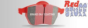 EBC Red Stuff Brake Pads 2013+ Cadillac ATS with Brembo Brakes