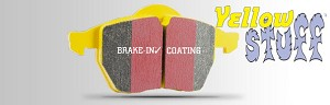 EBC Yellow Stuff Brake Pads 2013+ Cadillac ATS with Brembo Brakes